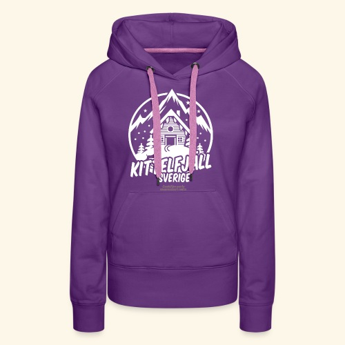Kittelfjäll Ski Resort T Shirt Design - Frauen Premium Hoodie