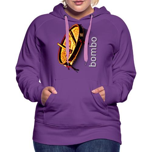 Bombo - Sudadera con capucha premium para mujer