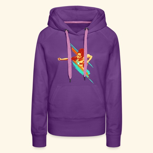 Just believe that you can achieve it, keep playing - Frauen Premium Hoodie
