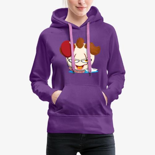 Clown BB (Hors-Série) - Sweat-shirt à capuche Premium pour femmes