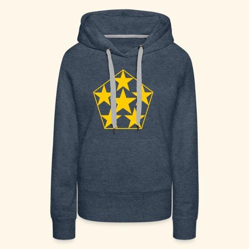 5 STAR gelb - Frauen Premium Hoodie