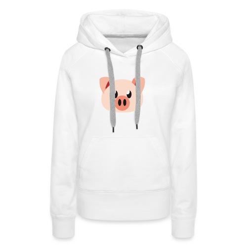 Schweinchen »Oink Oink« - Women's Premium Hoodie
