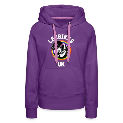 Lezbikes Logo - Women's Premium Hoodie