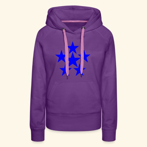 5 STAR blau - Frauen Premium Hoodie