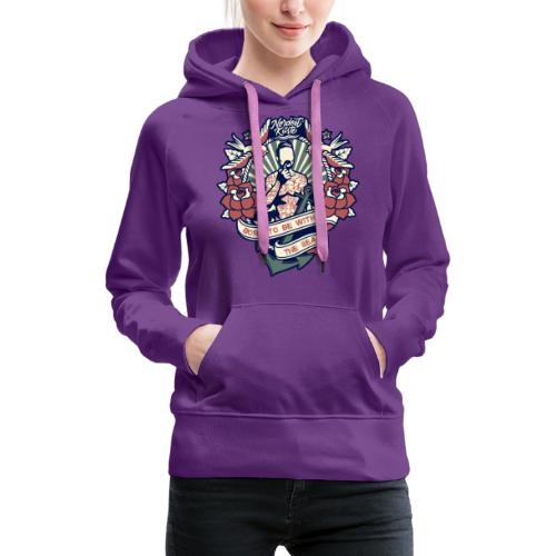 born to be with the sea - Frauen Premium Hoodie