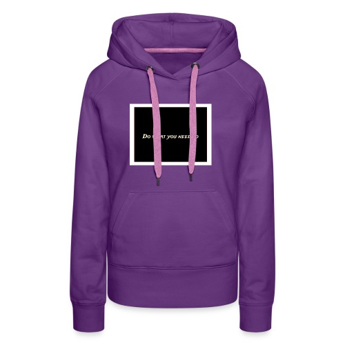 my merch - Women's Premium Hoodie