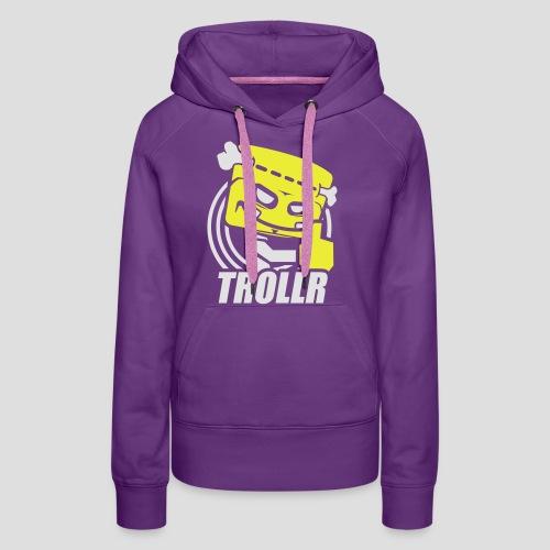 TROLLR Like - Sweat-shirt à capuche Premium pour femmes