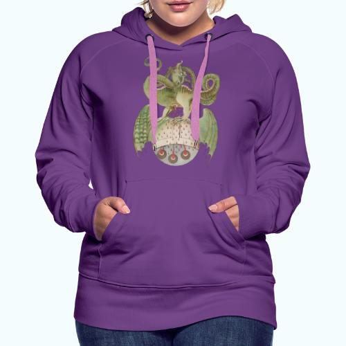 Middle Ages Dragon - Women's Premium Hoodie