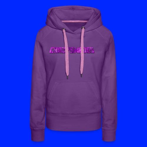 CrazySwedes PurpleThunder - Premiumluvtröja dam