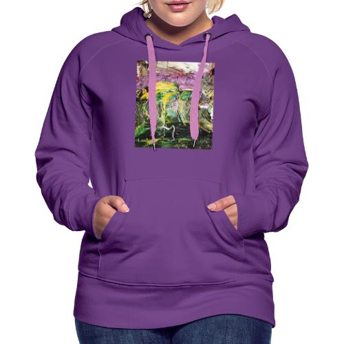 Abstract close up 2 - Women's Premium Hoodie