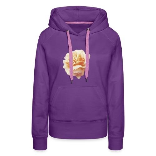 Flower - Sweat-shirt à capuche Premium pour femmes