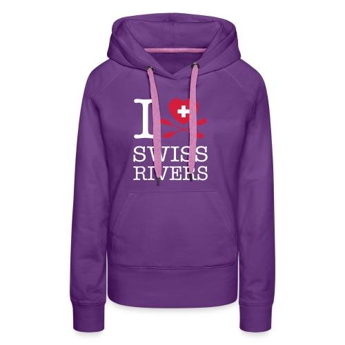 I LoveSwiss Rivers_MEN_VS - Frauen Premium Hoodie