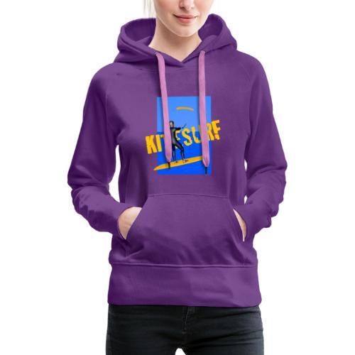 KITESURF HOMME - Sweat-shirt à capuche Premium pour femmes