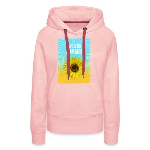 sunflower endless summer Sonnenblume Sommer - Women's Premium Hoodie