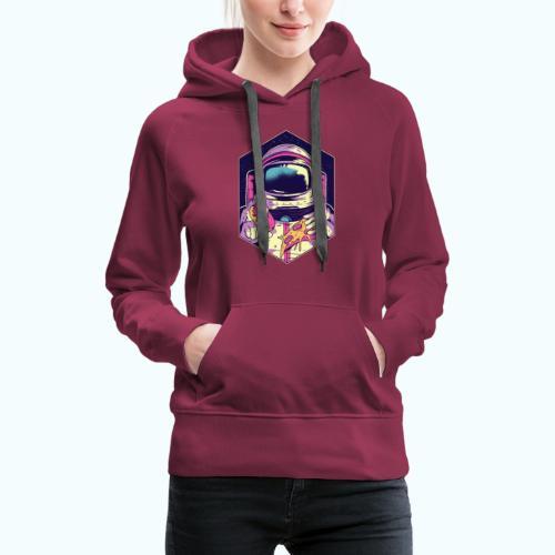Fast food astronaut - Women's Premium Hoodie