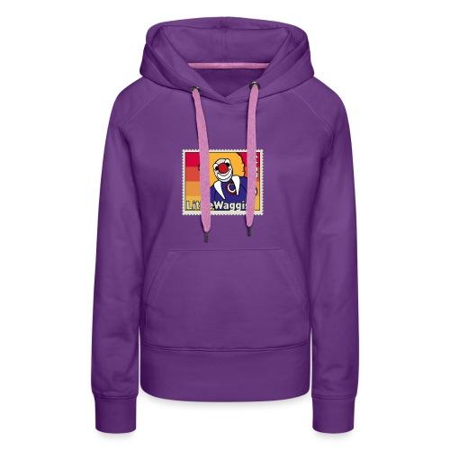 LittleWaggis - Briefmarke - Frauen Premium Hoodie