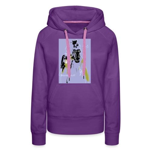 monkey stuff - Frauen Premium Hoodie