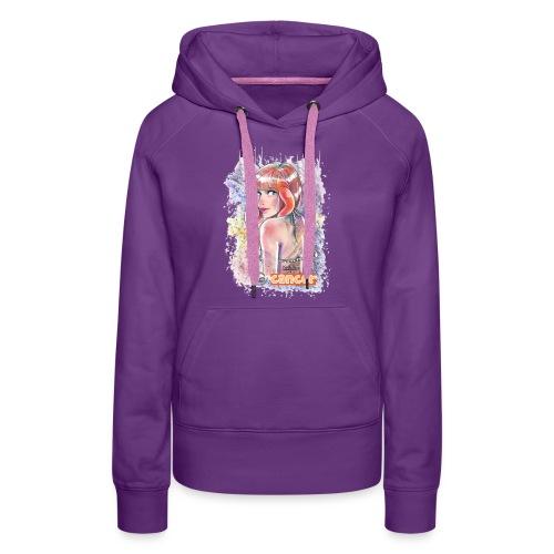 Cancer By Yo&Dee - Sweat-shirt à capuche Premium pour femmes
