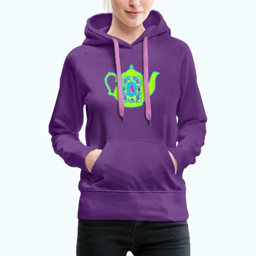 Wonders & Madness Tea Party - Women's Premium Hoodie