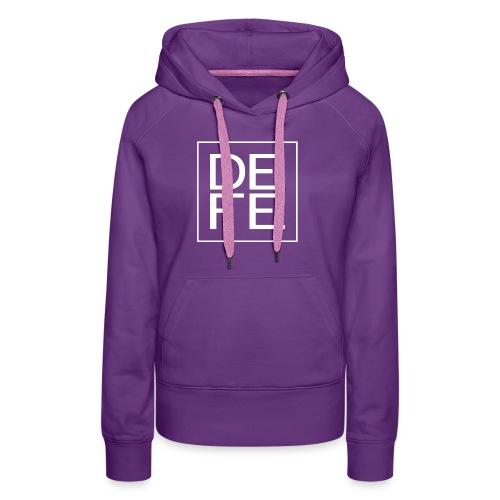 defelogo - Women's Premium Hoodie