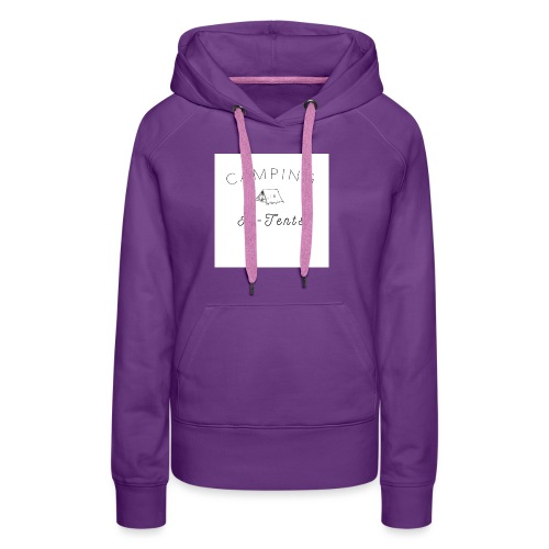 camping is in-tents - Women's Premium Hoodie