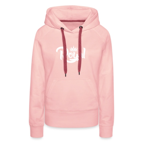 Royal Logo White Edition - Women's Premium Hoodie