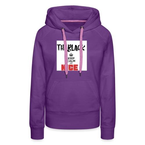 TheBlack Nice - Frauen Premium Hoodie