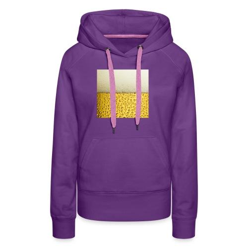 Logo beer bier - Vrouwen Premium hoodie