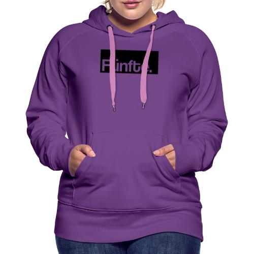 Fünfte. Boxed - Frauen Premium Hoodie
