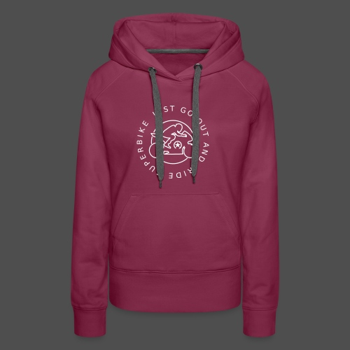 just go out and ride superbike 0GO03 - Women's Premium Hoodie