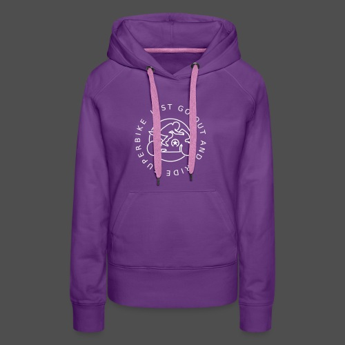 just go out and ride superbike 0GO03 - Frauen Premium Hoodie