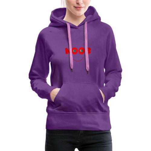 NOOB - Sweat-shirt à capuche Premium pour femmes