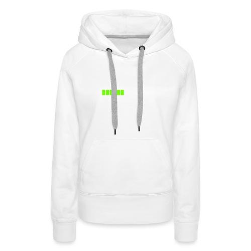 tendance réveil en cours veuillez patienter - Sweat-shirt à capuche Premium pour femmes