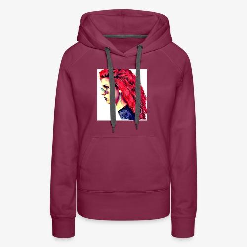 MINERVA - Sudadera con capucha premium para mujer