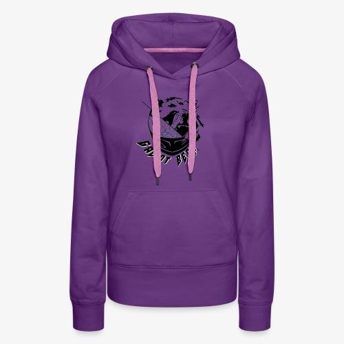 Galiot Bear Logo schwarz - Frauen Premium Hoodie