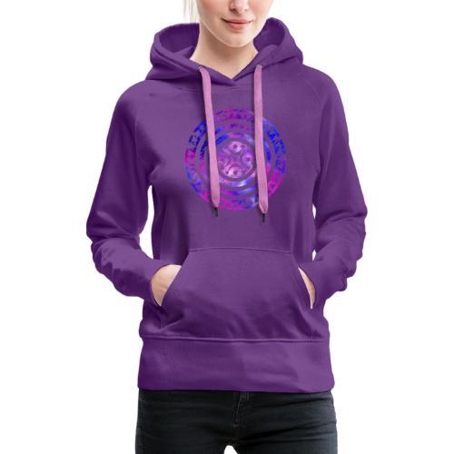 Estela cántabra AF - Sudadera con capucha premium para mujer