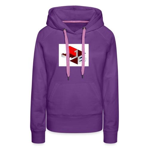shirt - Vrouwen Premium hoodie