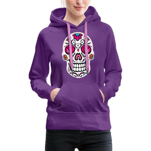 Sugar Skull Day Of The Dead Totenschädel - Frauen Premium Hoodie
