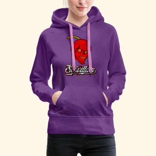 Chili Chilischote Chilihead Scovillain - Frauen Premium Hoodie