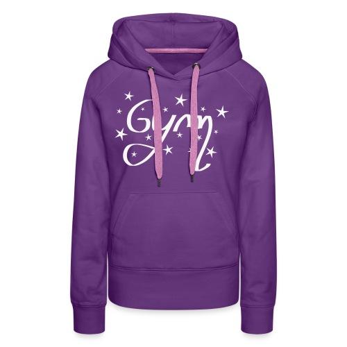 gym etoile - Sweat-shirt à capuche Premium pour femmes