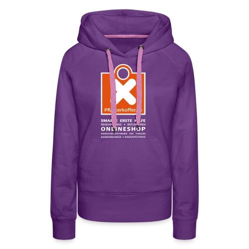 pflasterkoffer hoodie vorne01neu - Frauen Premium Hoodie