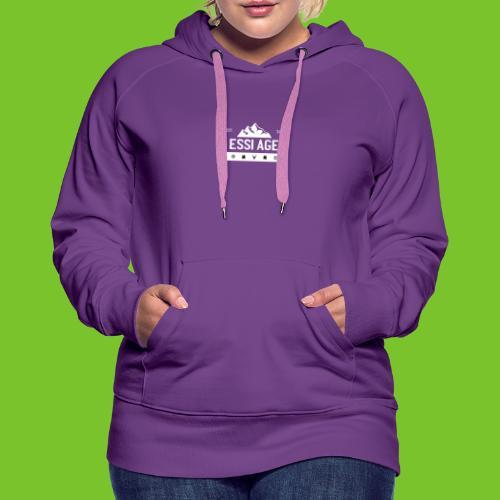 Mountain Two - Frauen Premium Hoodie