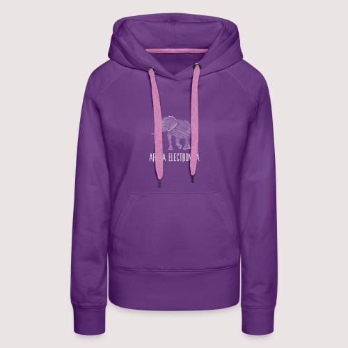 Elefant Weiss - Frauen Premium Hoodie