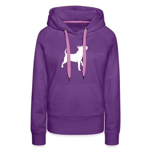 Bully head up - Frauen Premium Hoodie