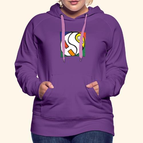 AS (nur Logo) - Frauen Premium Hoodie