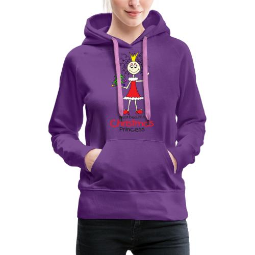 Most beautiful Christmas Princess - Frauen Premium Hoodie