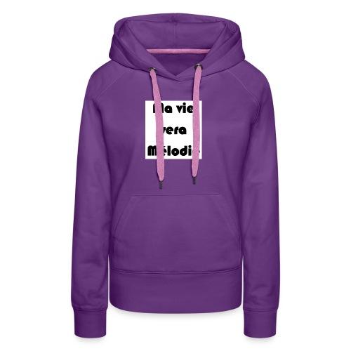 La belle au bois dormant - Sweat-shirt à capuche Premium pour femmes