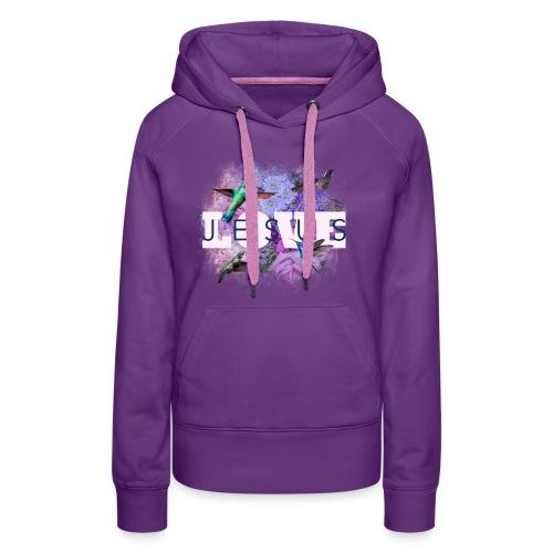 LOVE JESUS - Frauen Premium Hoodie