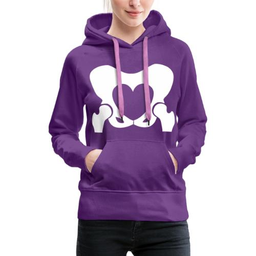 Love Your Hips Logo - Women's Premium Hoodie