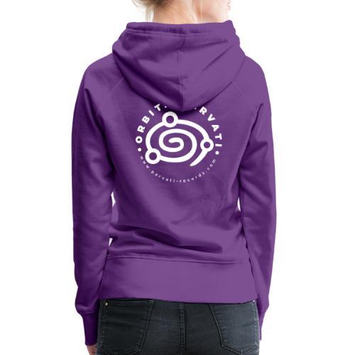 Orbita Parvati white logo - Women's Premium Hoodie